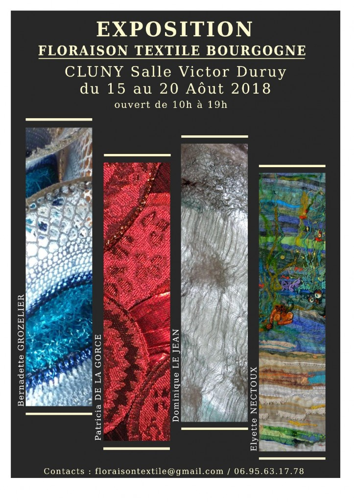 affiche expo cluny